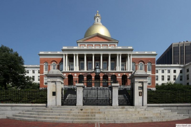 boston - massachusetts state house